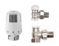Радиаторный комплект термостатических кранов Herz Classic угловой v 7724 01
