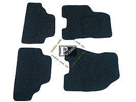 """Ворсовые коврики """"Extra"""" Hyundai Tucson 2004 (черные) - Текстильные автоковры Хюндай Туксон"""