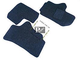 """Ворсовые коврики """"Extra"""" Hyundai H-1 c 1996 (черные) - Текстильные автоковры Хюндай Х1"""
