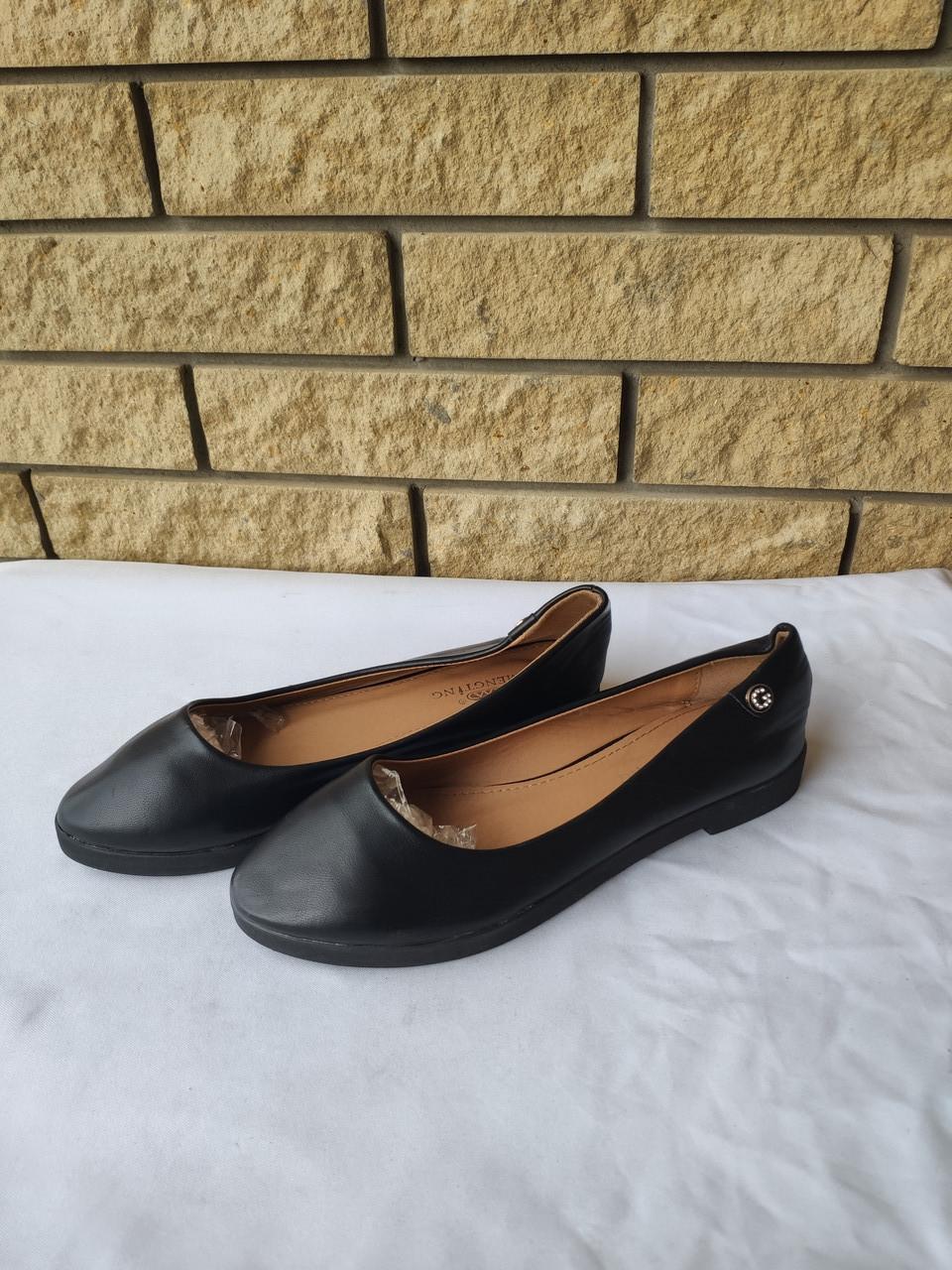 Туфли  женские на небольшом каблуке MENGTING