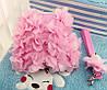 """Мягкая шлейка с поводком  """"Розовый цветок"""" для собаки, кошки. Одежда для  кошек, собак, фото 3"""
