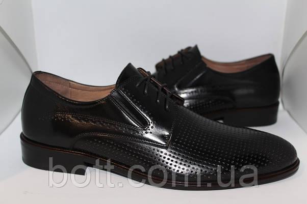 Туфли кожаные летние , фото 2