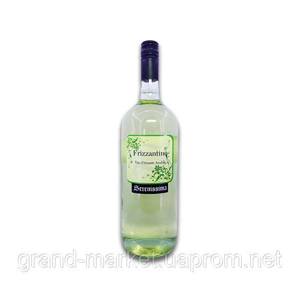 Вино Serenissima Frizzantino Bianco 1.5 л