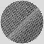 Трикотажное полотно Лакоста пенье и комплектные воротники. Серый цвет.