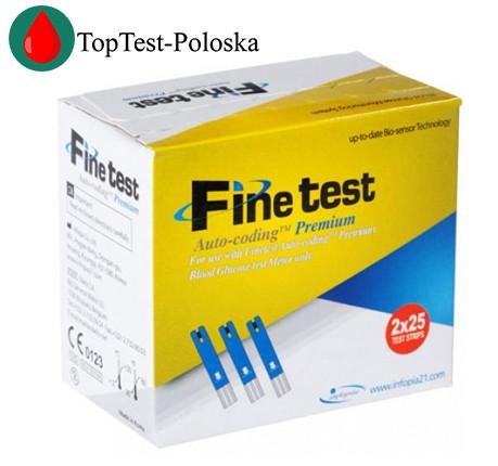 Тест-смужки Fine Test Premium 2*25