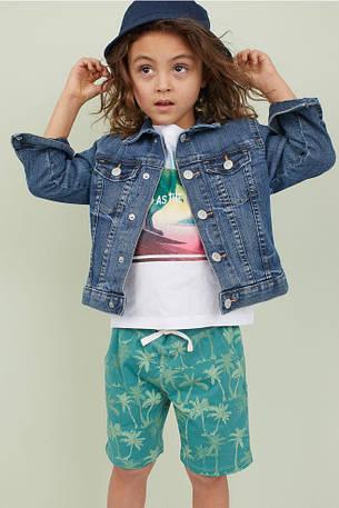 Трикотажные шорты H&M для мальчика, фото 2