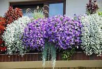 Ящик балконный для цветов зеленый, фото 1