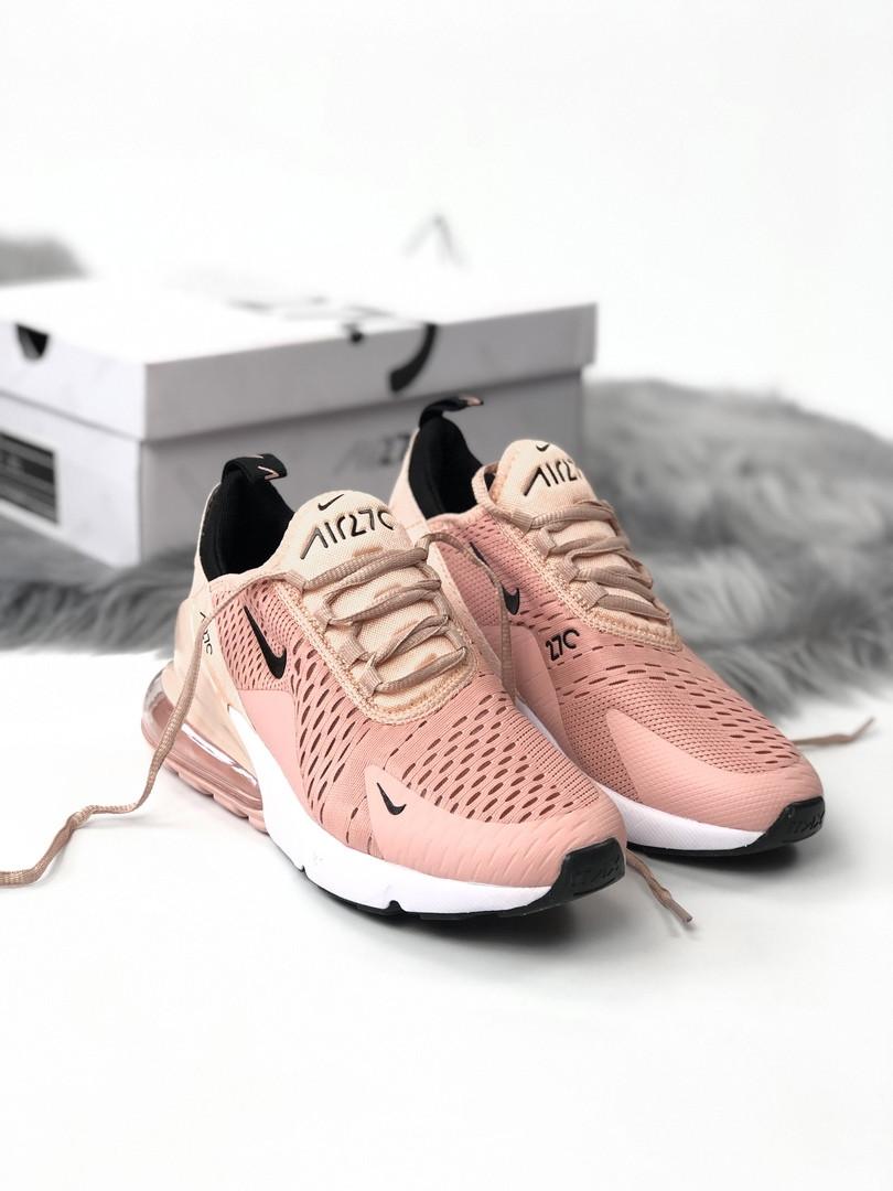 Женские кроссовки в стиле Nike Air Max 270 (36, 37, 38, 39, 40 размеры)
