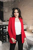 Пиджак женский Красный
