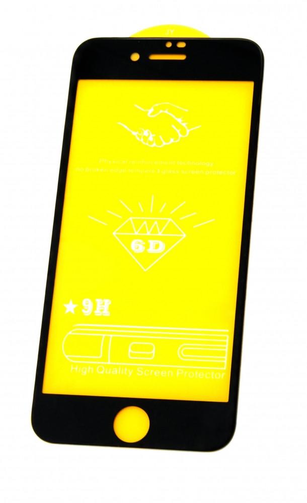 Защитное стекло 6D (монолит) для iPhone 8 Plus Black