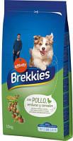 Brekkies Dog Chicken Полнорационный корм для собак с курицей  20 кг