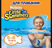 HUGGIES - ХАГГИС ЛИТТЛ СВИМЕРС 5-6, 11 ШТ.