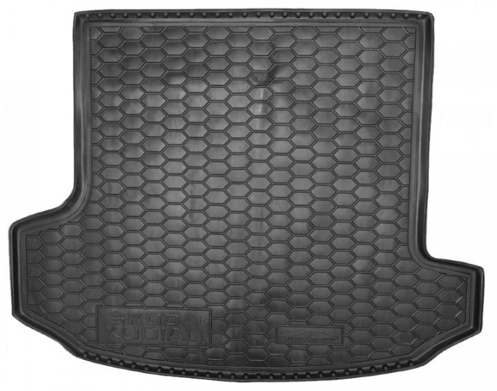 Коврик в багажник для Skoda Kodiag (2017-) 7мест большой 111690 Avto-Gumm