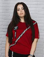 Женская футболка большой размер, фото 1