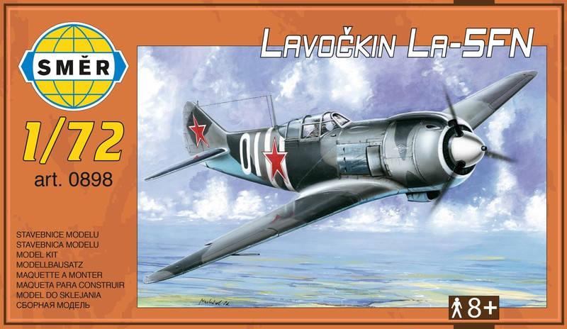 Модель советского военного самолета Лавочкин Ла-5ФН. 1/72 SMER 0898, фото 2
