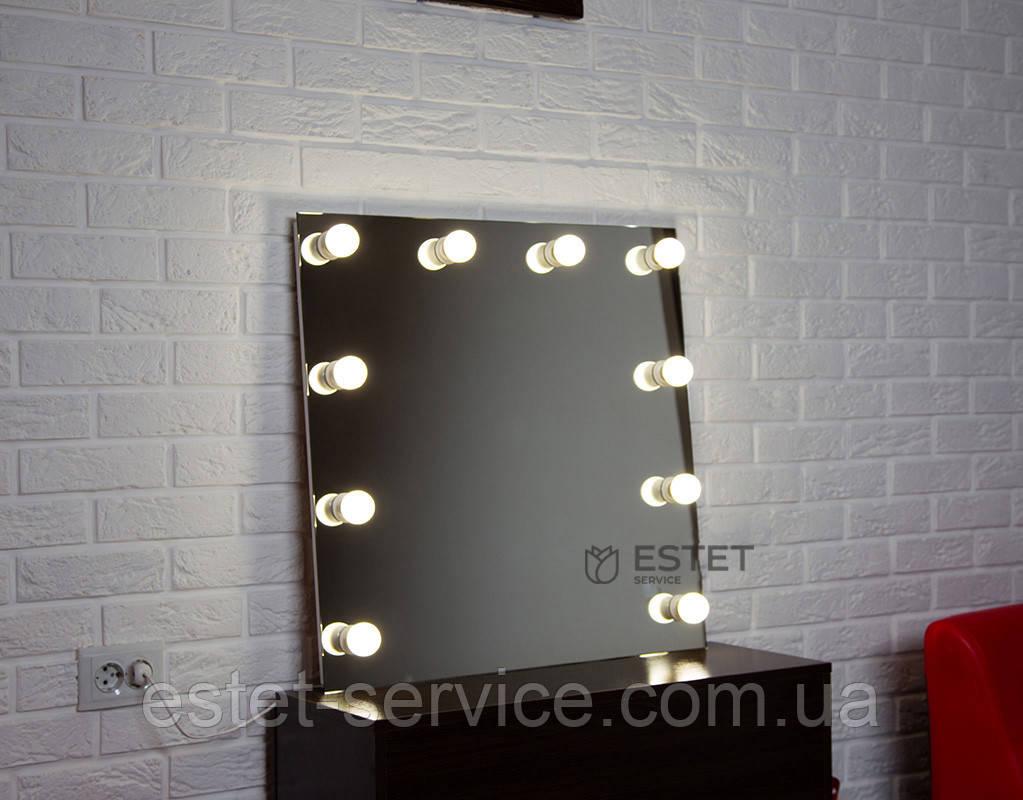 Зеркало с подсветкой МОНРО 70х70 см