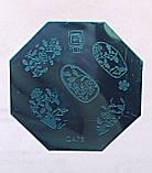 Пластина для стемпинга (металлическая) QA43, фото 6