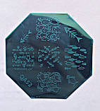 Пластина для стемпинга (металлическая) QA18, фото 4