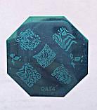 Пластина для стемпинга (металлическая) QA18, фото 9