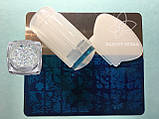 Стемпинг для ногтей + Пластина для стемпинга Набор, фото 2