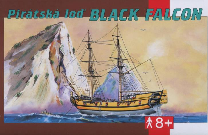 Сборная модель пиратского судна ЧЁРНЫЙ СОКОЛ. 1/120 SMER 0901, фото 2