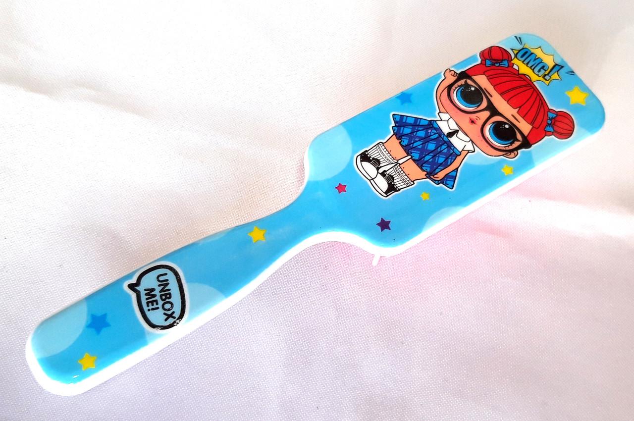 Расческа детская LOL, Cute Brush, голубая