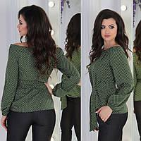 Женская модная блузка  ЕЛМ1041, фото 1