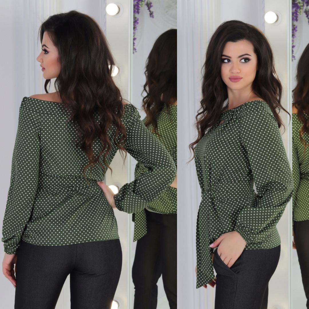 Женская модная блузка  ЕЛМ1041