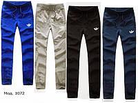Спортивные брюки женские трикотаж. Мод. 1072. Разные цвета.