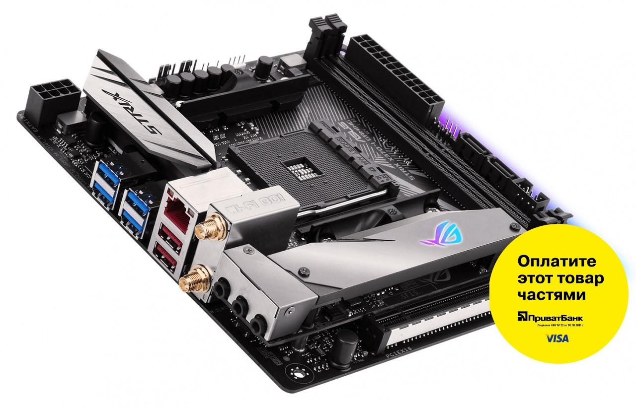 "Материнская плата Asus ROG STRIX X370-I GAMING s.AM4 DDR4 ""Over-Stock"" Б/У"