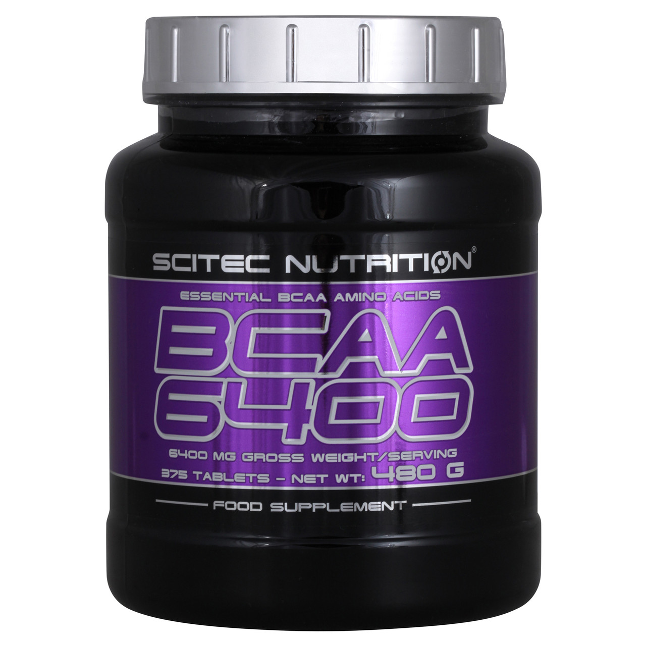 Аминокислоты BCAA 6400 Scitec Nutrition (375 табл)