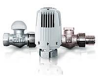 Радиаторный комплект термостатических кранов Herz Classic прямой v 7723 01