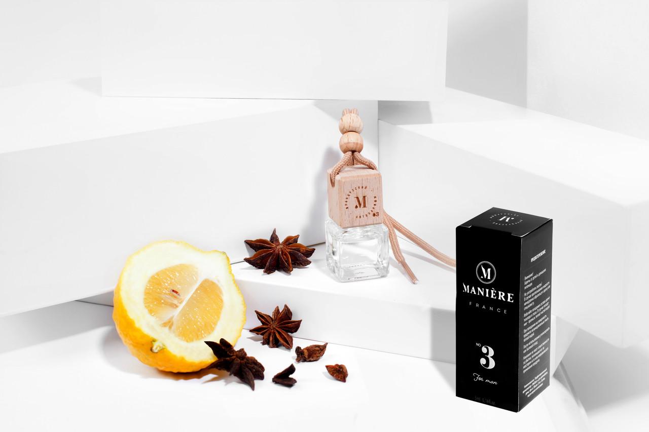 "Авто парфюм MANIERE №3 мужской аромат по мотивам "" Dior - Homme Sport"""