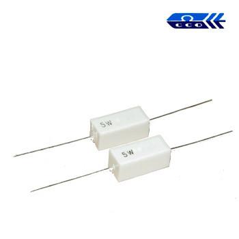 0,1 om (5W) ±5% резистор выводной цементный