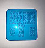 Пластина для стемпинга (пластиковая) WK06, фото 2