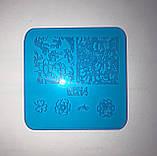 Пластина для стемпинга (пластиковая) WK06, фото 5