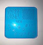 Пластина для стемпинга (пластиковая) WK06, фото 6