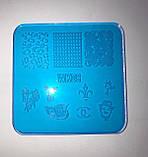 Пластина для стемпинга (пластиковая) WK06, фото 7