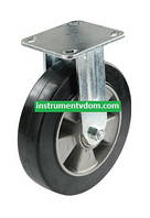 Колесо 710200 с неповоротным кронштейном (диаметр 200 мм)