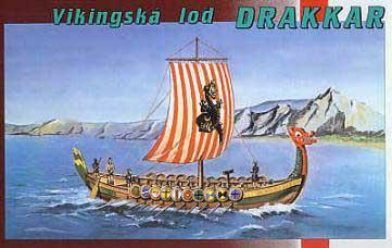 Драккар викингов. Сборная модель. 1/60 SMER 0902