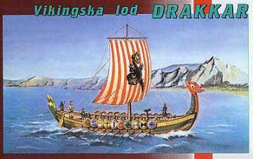 Драккар викингов. Сборная модель. 1/60 SMER 0902, фото 2