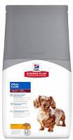 Корм Хиллс для собак Hill's Adult Oral Care уход за полостью рта с курицей 5 кг
