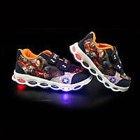 Кроссовки с подсветкой детские Spiderman C5A