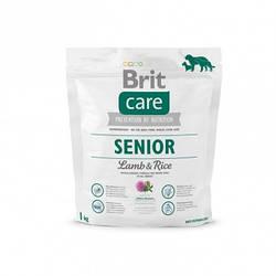Корм Brit Care Senior Lamb & Rise Брит Каре Сеньйор Ягня Рис для літніх собак 1 кг