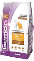 Gemon (Джемон) Medium Adult Сухой корм для собак средних пород с курицей и рисом 15 кг