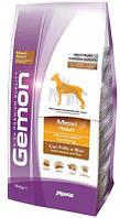 Сухой корм Gemon (Джемон) Maxi Adult для крупных пород собак с курицей и рисом 15 кг