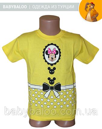 "Модная детская футболка ""Минни""( от 3 до 7 лет), фото 2"