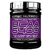 Аминокислоты BCAA 6400 Scitec Nutrition (125 табл)