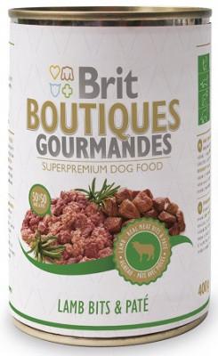 Консервы для собак Брит-Brit Boutiques Gourmandes с ягненком 400 гр
