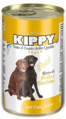 Вологі корми для собак Киппи-KIPPY Dog Pate з куркою та індичкою 400 гр